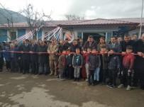 İSMET YıLMAZ - DAP'ın Desteğiyle Yapılan, Akıncılar Halk Kütüphanesi Hizmete Açıldı