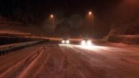 Erciyes'te Kar Yağışı Etkili Oldu