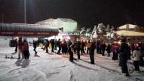 Erciyes'te 'Meşaleli' Yılbaşı Heyecanı