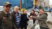 KEÇIBOYNUZU - Karabük'te Yılbaşı İçin 1000 Adet Fidan Dağıtıldı