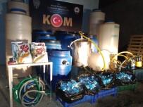 Malatya'da 3 Bin 560 Litre Sahte İçki Ele Geçirildi
