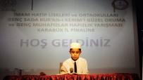İMAM HATIP LISELERI - Safranbolu'da Kur'an-I Kerimi Güzel Okuma Yarışması