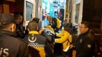Yangında Mahsur Kalan Şahsı İtfaiye Balkondan Kurtardı