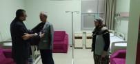 BÜLENT ÖZ - Başkan Bülent Öz'den Hastalara Ziyaret