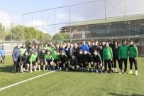 KOCAELISPOR - Başkan Söğüt'ten Kocaelispor'a Motivasyon Ziyareti