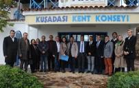 BÜLENT TEZCAN - CHP Aydın Milletvekili Bülent Tezcan'dan Kuşadası'nda Kurum Ziyaretleri