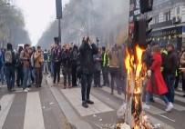 EMMANUEL MACRON - Fransa'da Eylemlere 285 Bin Kişi Katıldı