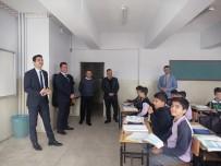 ZİYA GÖKALP - Kaymakam Teke Okulları Denetledi