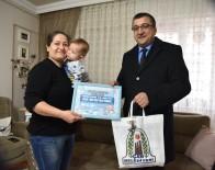 BÜLENT ÖZ - Başkan Öz 'Hoş Geldin Bebek' Ziyaretlerine Devam Ediyor