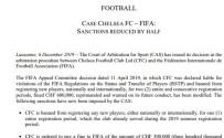 CHELSEA - Chelsea'ye CAS'tan Müjdeli Haber
