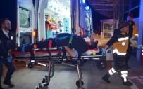 Polisin 'Dur' İhtarına Uymayan Otomobil Sürücüsü Kaza Yaptı