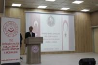 ÇANAKKALE ZAFERI - Vali Bektaş, Kıbrıs Barış Harekatı'na Katılan Gazilerle Buluştu
