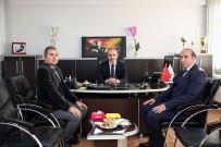 ÇORUH NEHRİ - Vali Cüneyt Epcim DSİ Şube Müdürlüğünü Ziyaret Etti