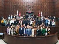 SİYASAL BİLGİLER FAKÜLTESİ - ÇOMÜ Öğrencilerinden Turan Ve İskenderoğlu'na TBMM'de Ziyaret