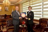 DELGADO - NATO Daimi Deniz Görev Grubu Gemi Komutanlarından Vali Su'ya Ziyaret