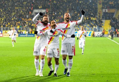Süper Lig Açıklaması MKE Ankaragücü Açıklaması 1 - Göztepe Açıklaması 1 (İlk Yarı)