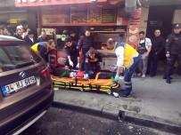 VATAN CADDESİ - Yaralı Halde Saldırganın Peşinden Gitmeye Çalıştı