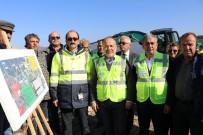 MUSTAFA SAVAŞ - AK Partili Yavuz, Sarıçay Barajı Şantiyesinde İncelemede Bulundu
