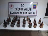 ÇUKURHISAR - Eskişehir'de 20 Şişe Sahte İçki Ele Geçirildi