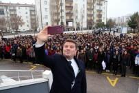 ÖĞRETMENLER GÜNÜ - Başkan Dinçer, Bayrak Töreninde Öğrencilerle Buluştu