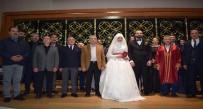 SERVİSÇİLER ODASI - Gazeteci Aladağ Ailesinin Mutlu Günü