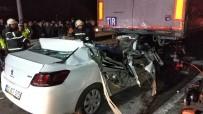 TAFLAN - Samsun'da Otomobil Tırın Altına Girdi Açıklaması 1 Ölü