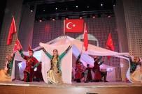 HAMDI USTA - Devlet Halk Dansları Topluluğu'nun Karabük'teki Gösterisine Büyük İlgi