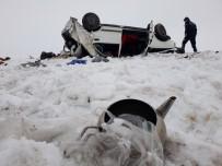 Ağrı'da Trafik Kazası Açıklaması 2 Ölü, 4 Yaralı