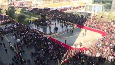 Hocalı Kurbanları Ana Feryadı Anıtı'nda Anıldı