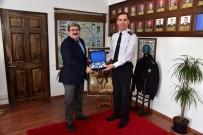 BILECIK MERKEZ - Başkan Can, Jandarma Komutanı Ağaoğlu İle Bir Araya Geldi