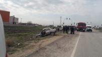 Otomobil İle Kamyonet Çarpıştı Açıklaması 1 Ölü