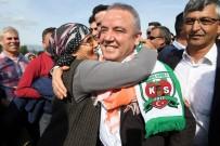 FERIDUN BAHŞI - Başkan Adayı Böcek, Alanya Ve Kaş'ta Seçim Çalışması Yaptı