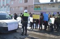 Eleşkirt'te Yaya Öncelikli Trafik Uygulaması Yapıldı