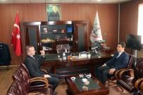 Diyadin Kaymakamı Ve Belediye Başkanı Öner, Tekin'i Ziyaret Etti