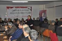 Eskişehir'de Üreticilere Yönelik Çorbalı, Bozalı Akşam Sohbetleri Devam Ediyor