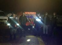 Yaylada Mahsur Kalan 3 Kişiyi AFAD Kurtardı
