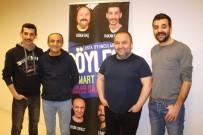 ERSİN KORKUT - 4 Usta Oyuncu Diyarbakır'da Sevenleriyle Buluştu