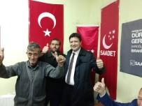 SP Büyükşehir Belediye Başkan Adayı Arıkan Açıklaması 'Palas'da Saadet Partisi Coşkusu Var'