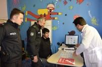 Polislerden, Özel Çocuklara Ziyaret