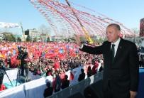 FIRTINA OBÜSÜ - Cumhurbaşkanı Erdoğan Sakarya'da