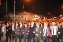ADNAN SEZGIN - Köşk İYİ Parti'den Çanakkale Zaferi İçin Fener Alayı