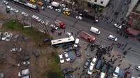 BEYAZIT MEYDANI - Beyazıt Meydanı'nda Halk Otobüsü Faciası Açıklaması 4 Yaralı