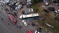 BEYAZIT MEYDANI - Halk Otobüsü Ortalığı Savaş Alanına Çevirdi