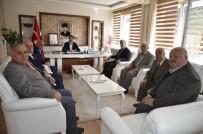 MUHAMMED ÇETIN - Başkan Yiğit, Kurumları Ziyaret Etti