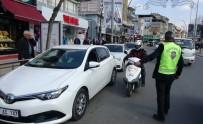 SİVİL KIYAFET - Sivil Trafik Polisleri İş Başında