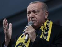 Cumhurbaşkanı Erdoğan: HDP, İstiklal Marşımızın, bayrağımızın düşmanıdır'