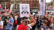 İSRAIL BAYRAĞı - İsrail Yanlıları Filistinlileri Londra'daki Gösteride Susturmak İstedi