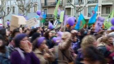 İspanya'da 8 Mart Coşkusu