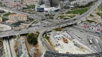 KURBAĞALIDERE - İstanbul Trafiğini Çözecek Proje Havadan Görüntülendi
