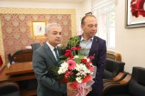 UĞUR TURAN - Başkan Akın'dan İlk Ziyaret Kaymakam Turan'a